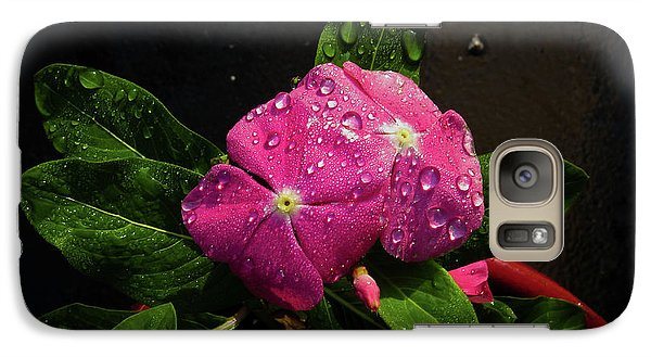 Galaxy Case featuring the photograph Pretty In Pink by Douglas Stucky