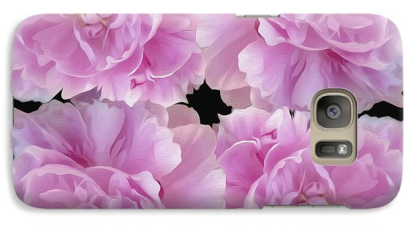 Galaxy Case featuring the photograph Pretty In Pink by Linda Constant