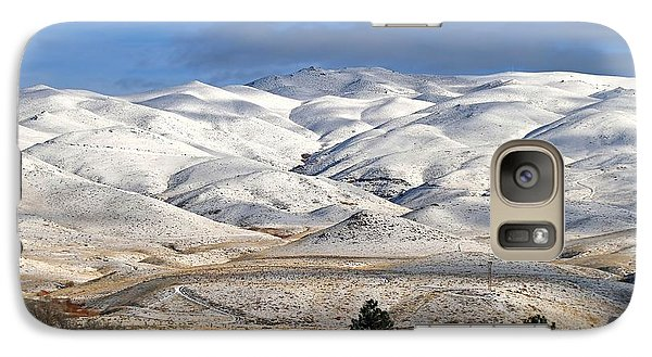 Galaxy Case featuring the photograph Pretty In White by Donna Kennedy