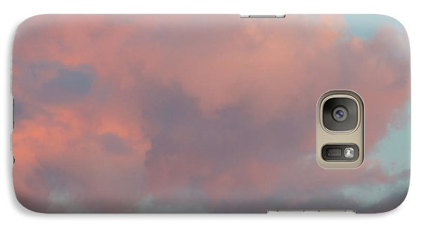 Galaxy S7 Case featuring the photograph Pretty Pink Clouds by Ana V Ramirez