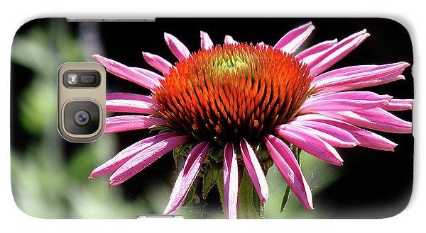 Pretty Pink Coneflower Galaxy S7 Case