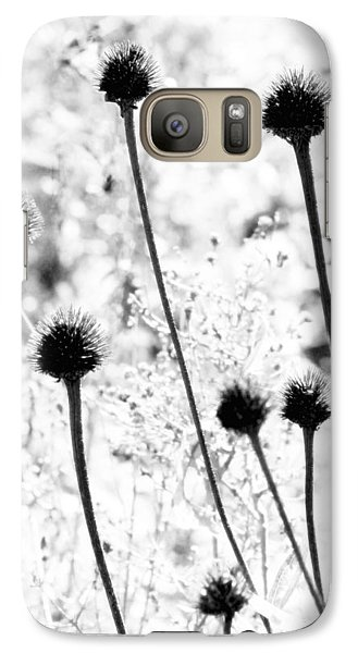 Galaxy Case featuring the photograph Prickly Buds by Deborah  Crew-Johnson