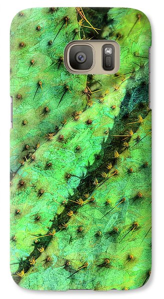 Galaxy Case featuring the photograph Prickly by Paul Wear