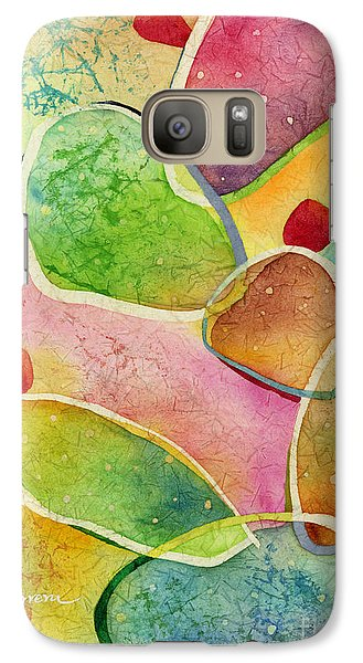 Galaxy Case featuring the painting Prickly Pizazz 1 by Hailey E Herrera