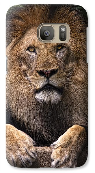 Galaxy Case featuring the photograph Pride by Cheri McEachin