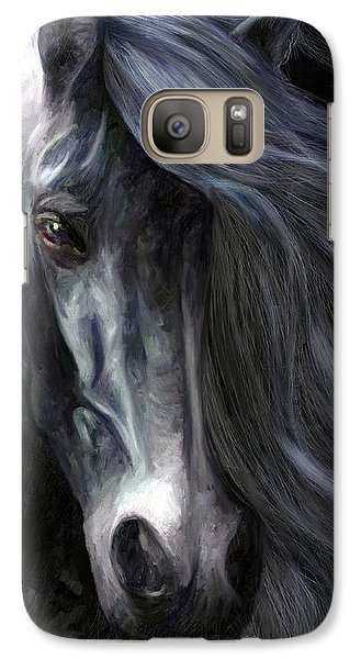 Galaxy Case featuring the painting Pride by James Shepherd