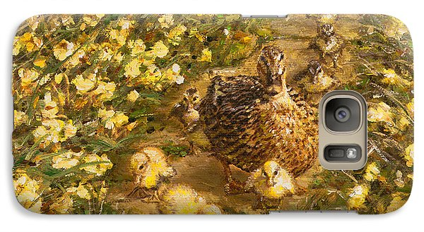Galaxy Case featuring the painting Primrose Path Il by Doug Kreuger