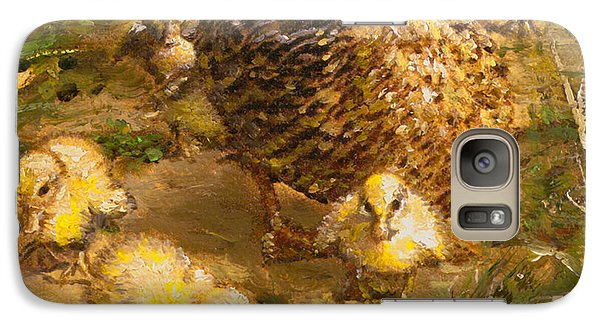 Galaxy Case featuring the painting Primrose Path Ill by Doug Kreuger