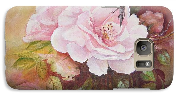 Galaxy Case featuring the painting Primrose by Patricia Schneider Mitchell