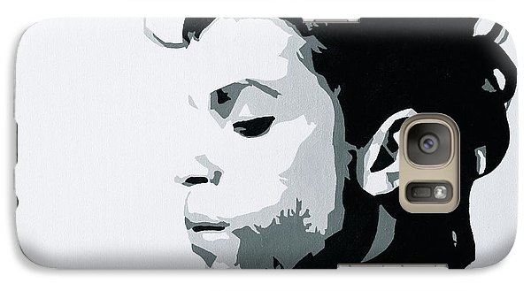 Galaxy Case featuring the painting Prince by Ashley Price
