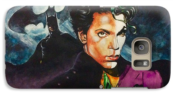 Galaxy Case featuring the painting  Prince Batdance by Darryl Matthews