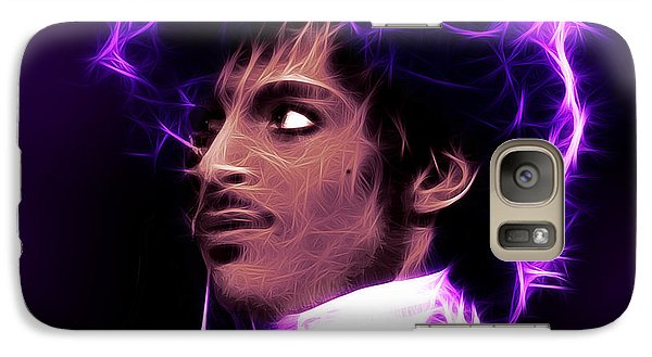 Galaxy Case featuring the digital art Prince - His Royal Badness by Stephen Younts