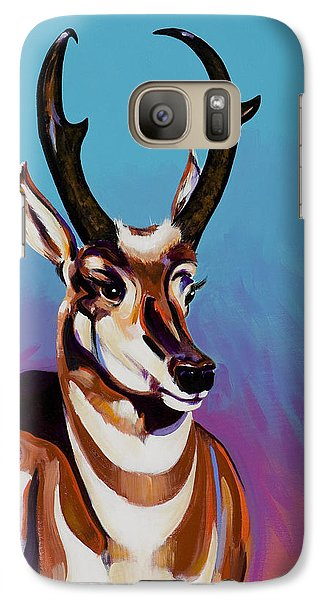Galaxy Case featuring the painting Prince Of The Prairies by Bob Coonts