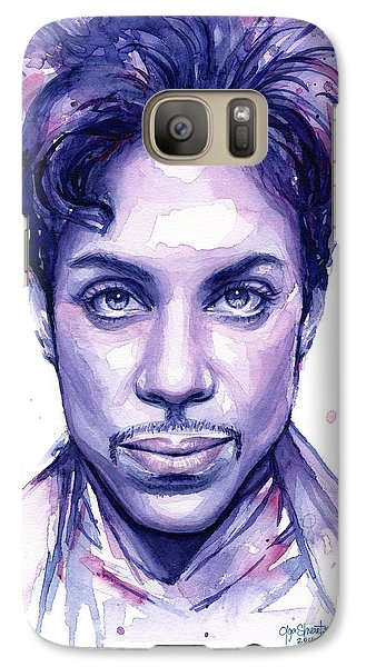 Prince Purple Watercolor Galaxy S7 Case