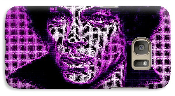 Prince - Tribute In Purple Galaxy S7 Case
