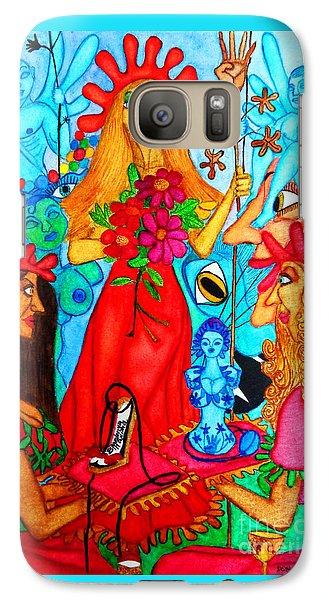 Galaxy Case featuring the painting Princess Countrywoman. by Don Pedro De Gracia