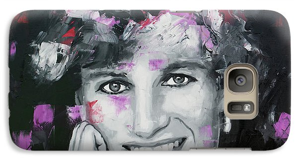 Galaxy Case featuring the painting Princess Diana by Richard Day