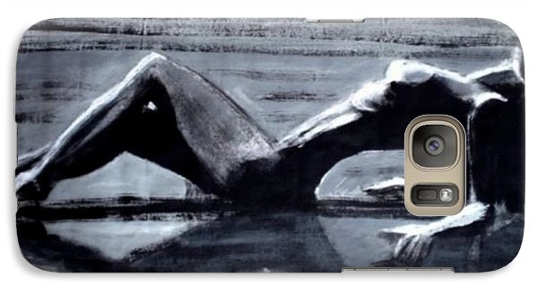 Galaxy Case featuring the painting Princess Of The Tides by Jarmo Korhonen aka Jarko