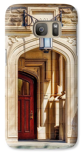 Galaxy Case featuring the photograph Princeton University 1901 Laughlin Hall by Susan Candelario