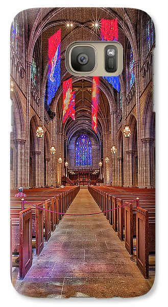 Galaxy Case featuring the photograph Princeton University Chapel by Susan Candelario
