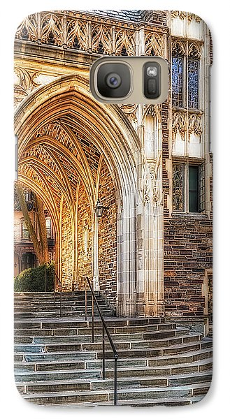 Galaxy Case featuring the photograph Princeton University Lockhart Hall Dorms by Susan Candelario