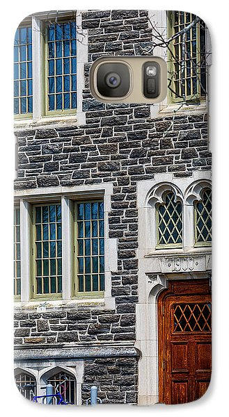 Galaxy Case featuring the photograph Princeton University Patton Hall No 9 by Susan Candelario