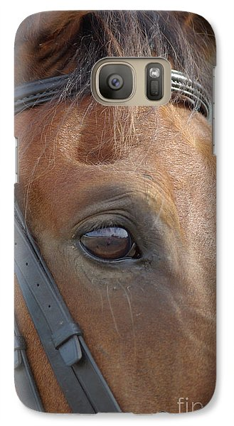 Galaxy Case featuring the photograph Prinz by Jim and Emily Bush