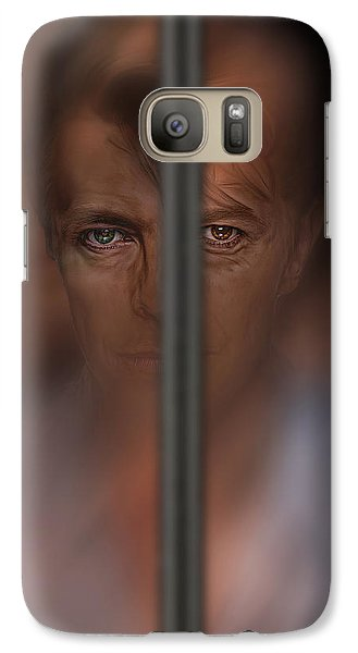 Galaxy Case featuring the digital art Prisoner Of Love by Pedro L Gili