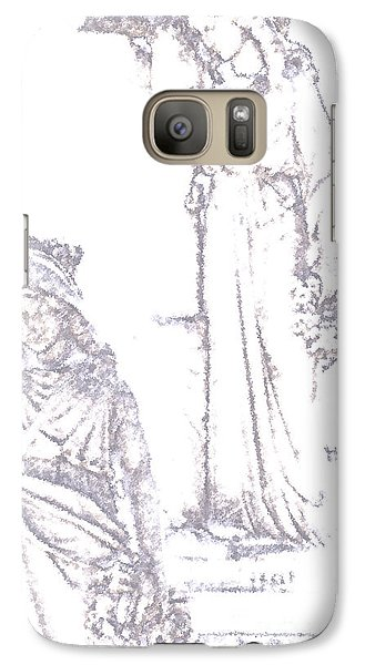 Galaxy Case featuring the photograph Procession Of Faith 2 by Linda Shafer