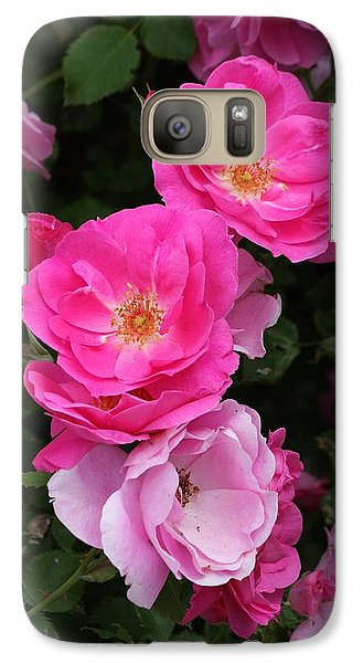 Galaxy Case featuring the photograph Profusion Of Pink by Doris Potter
