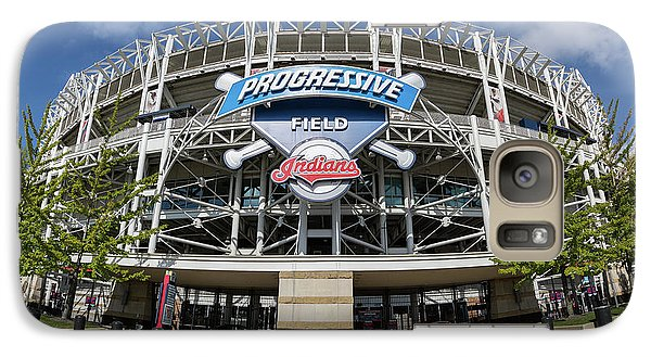 Galaxy Case featuring the photograph Progressive Field by Dale Kincaid