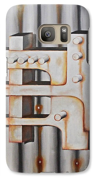 Galaxy Case featuring the painting Project Object Series by John Stuart Webbstock