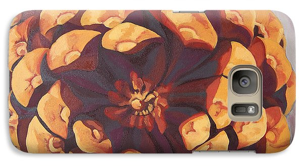 Galaxy Case featuring the painting Protected by Erin Fickert-Rowland