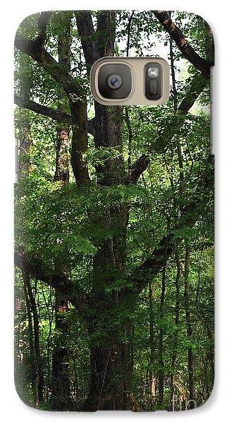 Galaxy Case featuring the photograph Protecting The Children by Skip Willits