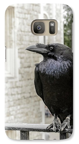 Galaxy Case featuring the photograph Protector Of The Crown by Christina Lihani