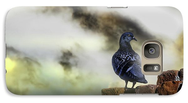 Pigeon Galaxy S7 Case - Proud To Be A Pigeon by Bob Orsillo