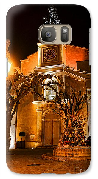 Galaxy Case featuring the photograph Provencal Night by Olivier Le Queinec