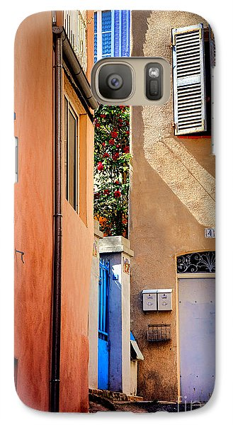 Galaxy Case featuring the photograph Provencal Passage  by Olivier Le Queinec
