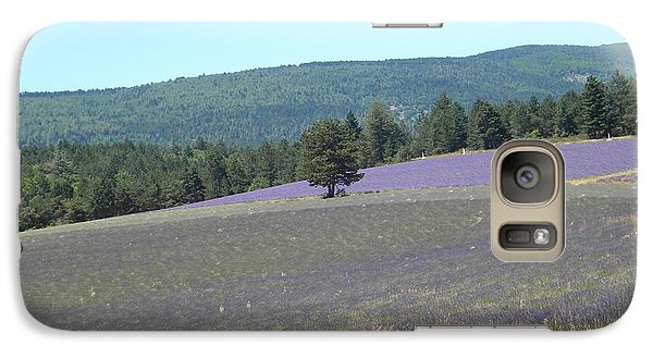 Galaxy Case featuring the photograph Provence Landscape by Manuela Constantin