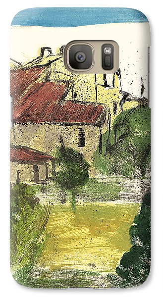 Galaxy Case featuring the painting Provence Landscape Sainte Marguerite by Martin Stankewitz