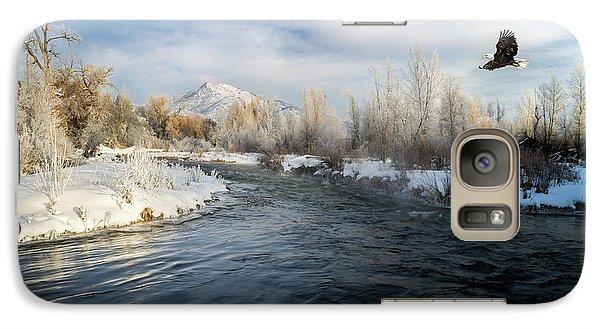 Provo River In Winter Galaxy S7 Case