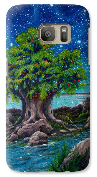 Galaxy Case featuring the painting Psalm One by Matt Konar