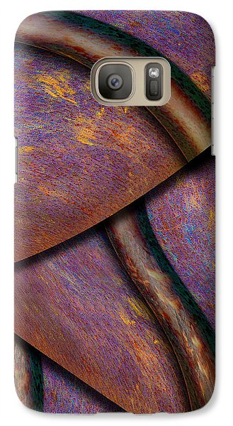 Galaxy Case featuring the photograph Psychedelic Pi by Paul Wear
