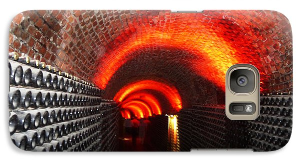 Galaxy Case featuring the photograph Psychedelic Wine Cellar by Nadine Dennis