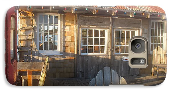 Galaxy Case featuring the photograph Pt. Reyes Boathouse by Dianne Levy