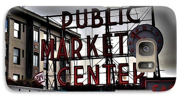 Galaxy Case featuring the photograph Public Market Center by Janice Spivey