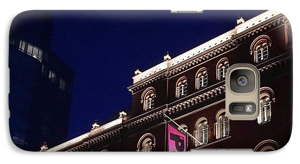 Public Theater Nyc  Galaxy S7 Case by Sandy Taylor