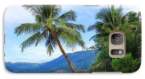 Phuket Patong Beach Galaxy Case by Mark Ashkenazi