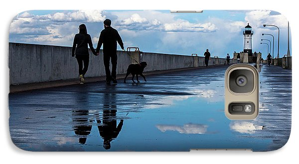 Galaxy Case featuring the photograph Puddle-licious by Mary Amerman