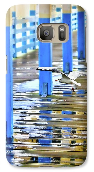 Galaxy Case featuring the photograph Puddles by Diana Angstadt